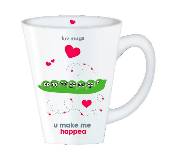 you make me happee mug