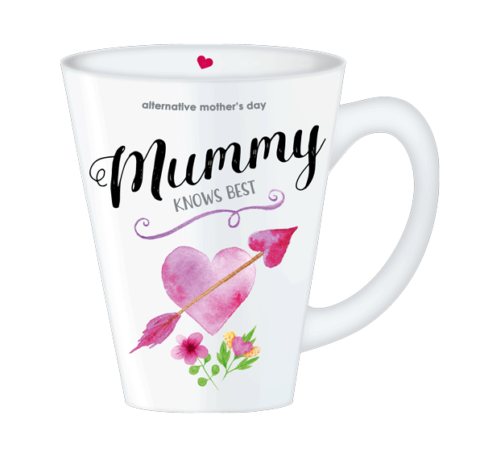 Mother's Day Mummy Knows Best mug