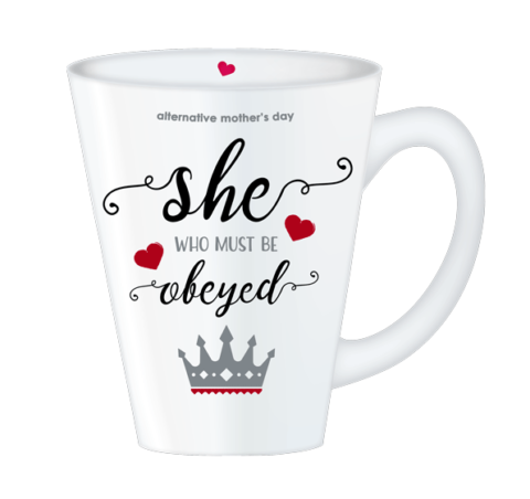 Mother's Day Obey mug