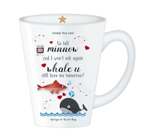 Under The Sea Whale Mug