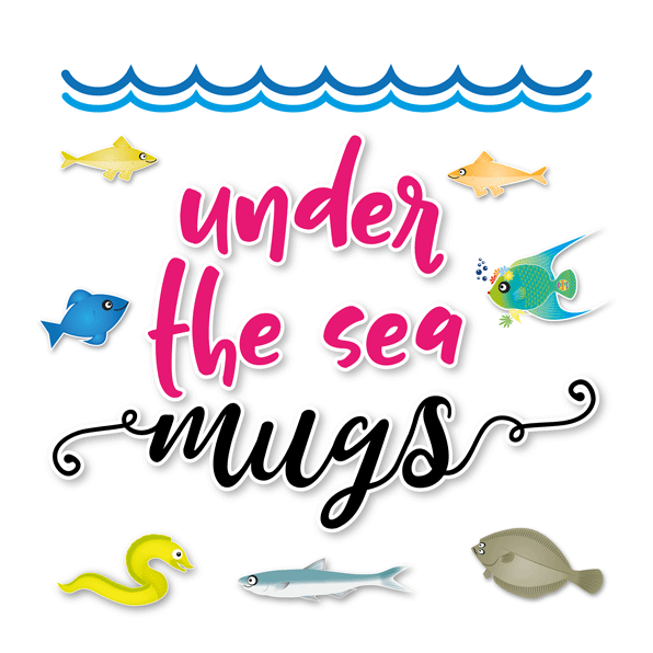 under the sea mugs