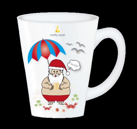 Christmas Mugs – Beach Santa