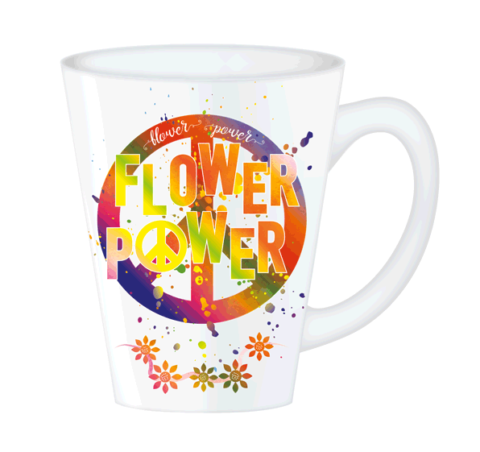 Hippy Mugs Flower Power