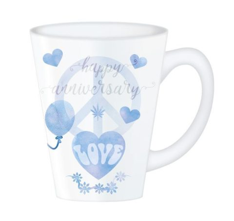 Hippy Mugs Anniversary (Blue)