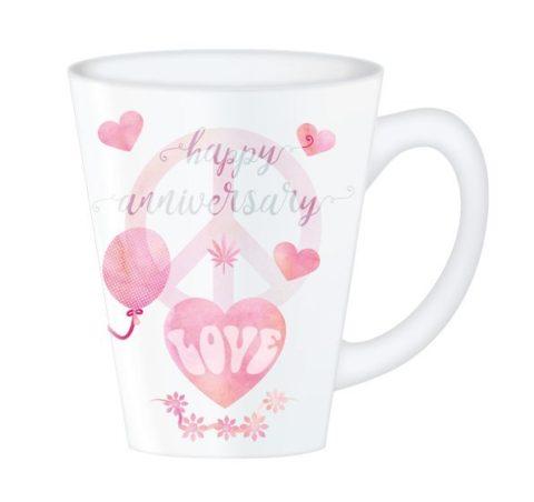 Hippy Mugs Anniversary (Pink)
