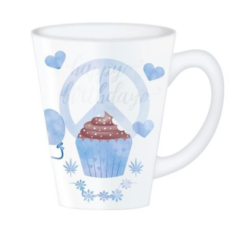 Hippy Mugs Birthday (Blue)
