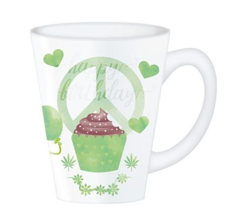 Hippy Mugs Birthday (Green)