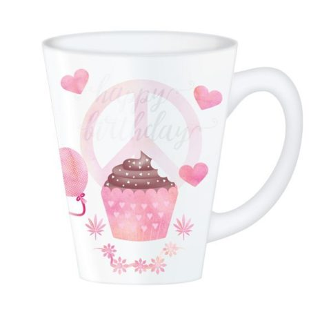 Hippy Mugs Birthday (Pink)