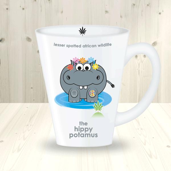 wildlife mugs hippo