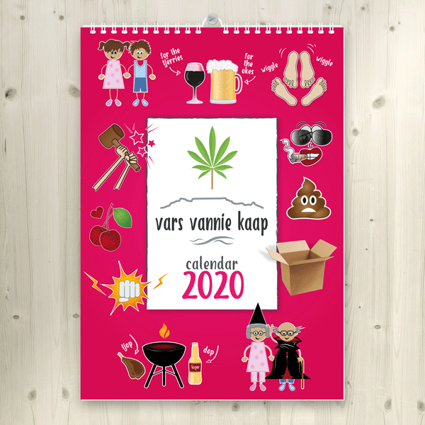 2020 vars vannie kaap wall calendars