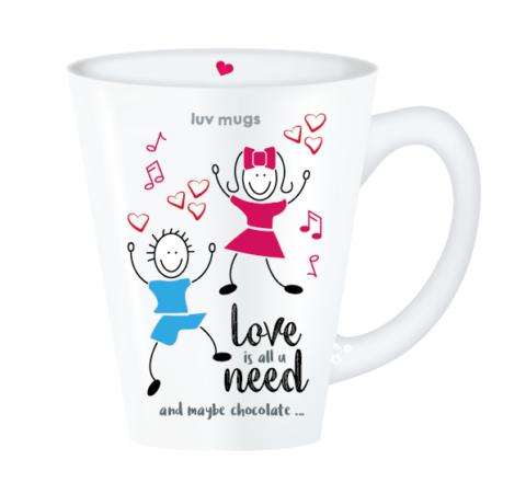 love is all mug